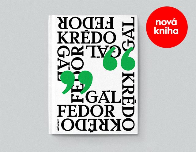 """Fedor Gál """"Krédo"""", nová kniha"""