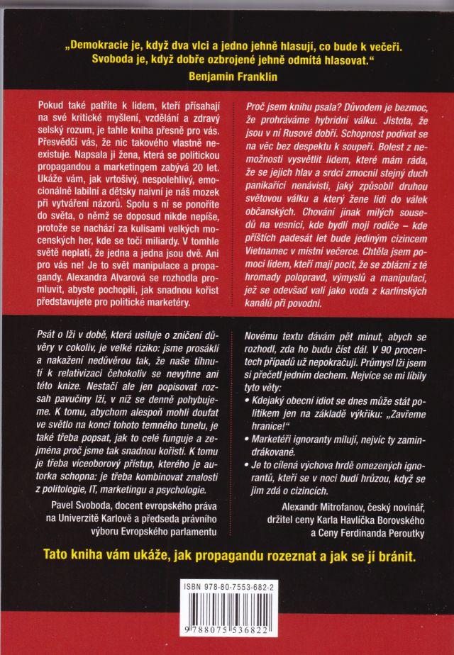 f9edffb5b3 Alexandra Alvarová napísala KNIHU. Dôležitú a výborne napísanú.